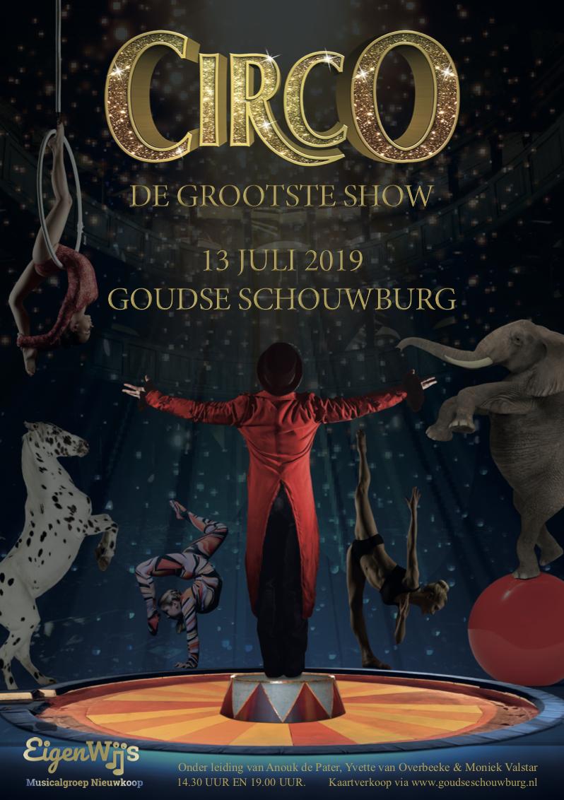 Familiemusical 2019 CIRCO, de grootste show een waar spektakel