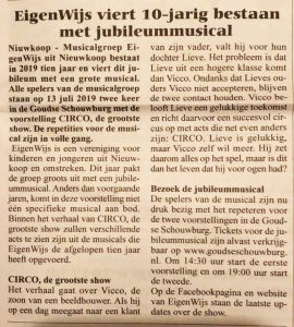 Eigenwijs CIRCO bodegraafse krant
